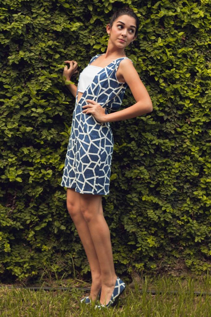 Vestido  y Zapatilla Alcora